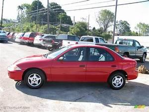2001 Bright Red Chevrolet Cavalier Sedan #17320720 Photo ...