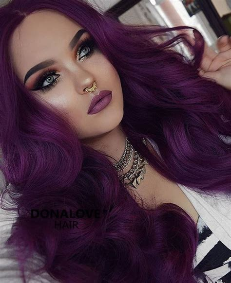 purple hair color for hair 25 best plum purple hair ideas on plum hair