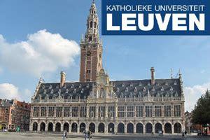 leuven specialization research grants  belgium