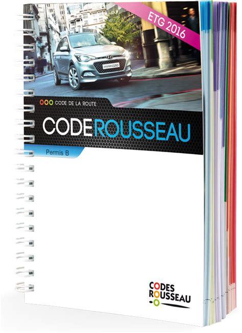 cours de code de la route 2016 permis voiture codes rousseau