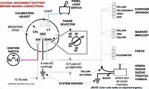 Where To Hook Tach To On Ignition Key Switch On An Omc