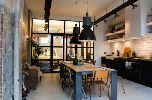 kitchen island legs metal ideeen voor een industrieel interieur