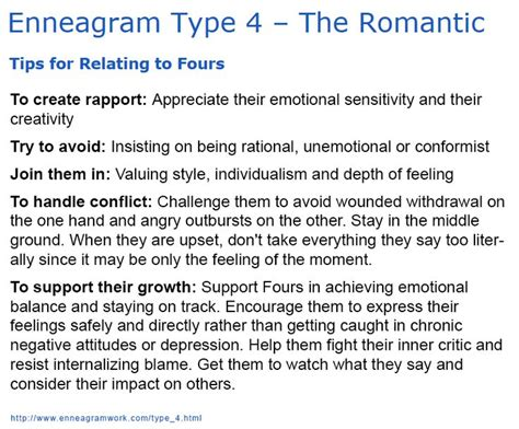 Enneagram Type 4  The Romantic Tips For Relating To