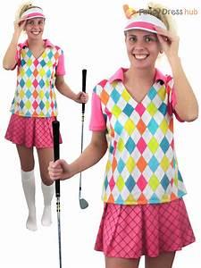 Adult Pub Golf Costume Men Ladies Golfer Fancy Dress Sport Hen Stag Party Outfit | eBay