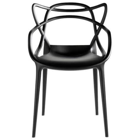 chaise kartel chaise masters kartell noir chaise