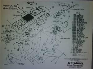 Turbo Kit Parts  Diagram