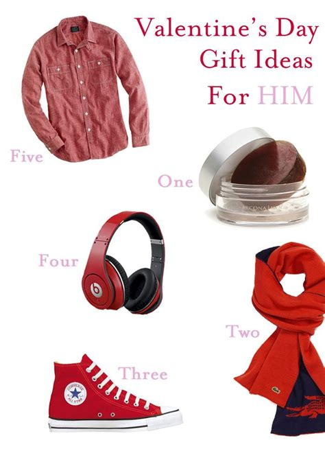 valentines presents 39 s day ideas for him