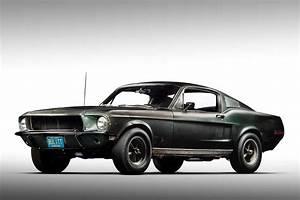 Original 1968 Bullitt Mustang Front Quarter | AUTOBICS