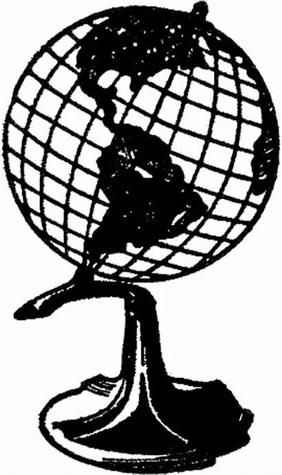 Globe Retro Graphics