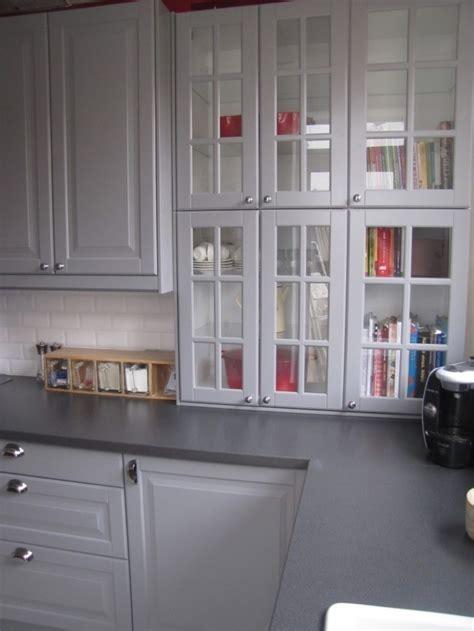 cuisine en u ikea cuisine cuisine style maison de cagne en bois grey