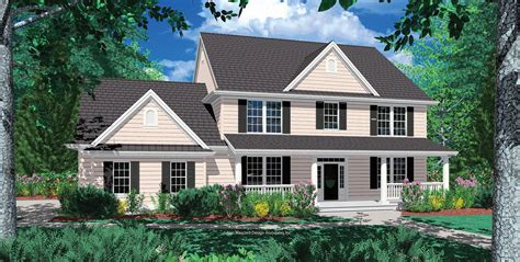 Mascord House Plan 2322F The Cameron
