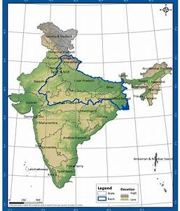 Topographic Information of Ganga Basin