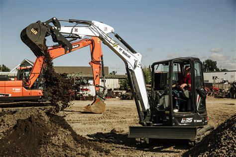 bobcat  mini excavator mclaren rentals