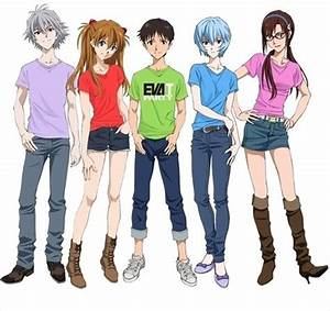 The World of Evangelion to Turn into T Shirts Eva T
