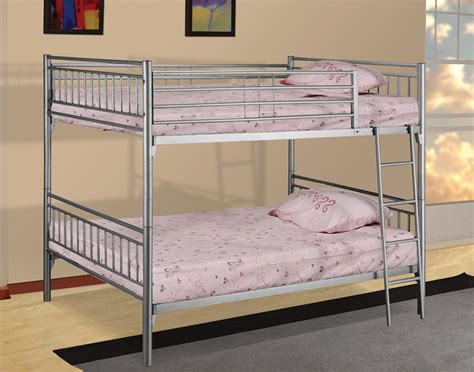 Metal Bunk Beds Twin Over Full Futon