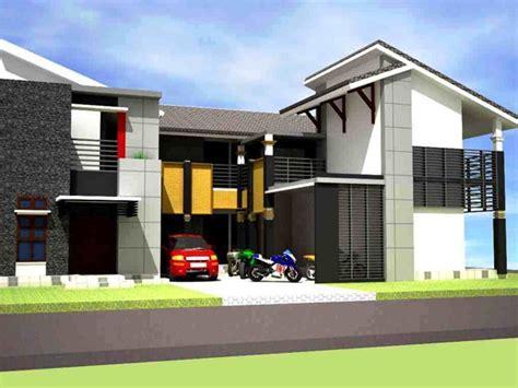gambar desain rumah kost eksklusif bertingkat gambar