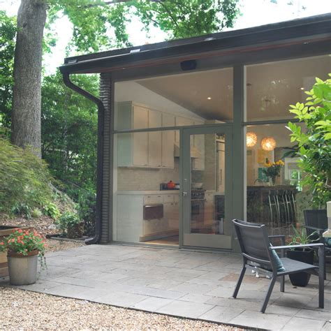 mid century modern renovation midcentury patio
