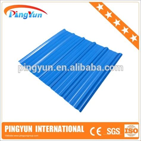 pvc roof tile heat resistant roofing sheets building