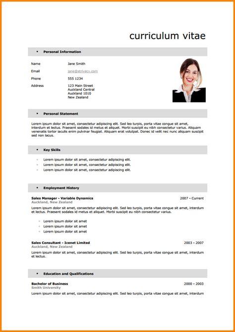 Le Curriculum Vitae Cv Exemple by Exemple Curriculum Vitae Etudiant New Exemple De