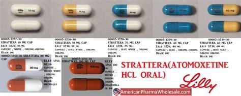 strattera 18 mg ndc