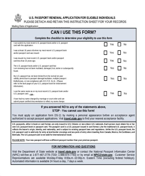 us passport expired renewal form how to renew us passport by mail how to