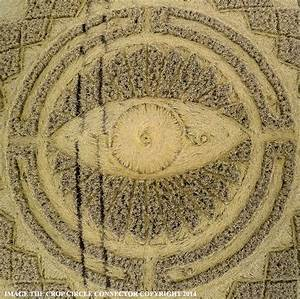 Crop Circle At Nettle Hill  Nr Ansty  Warwickshire  United