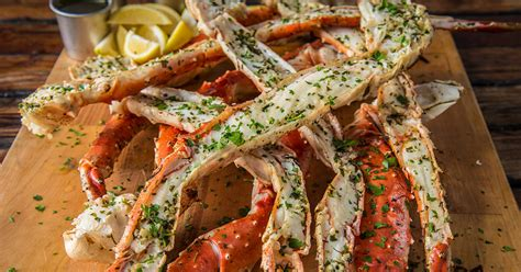 broiled king crab legs grilled crab legs with herb butter recipe traeger wood fired grills