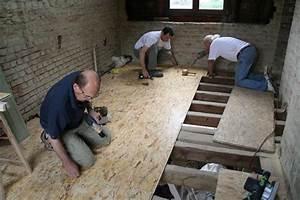 Isolation Des Combles Au Sol : plancher comble osb ~ Premium-room.com Idées de Décoration