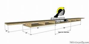 Make a Miter Saw Work Station: Part 1 THISisCarpentry