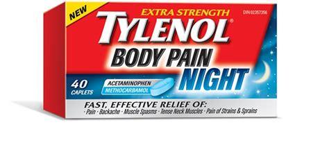 tylenol body pain night tylenol