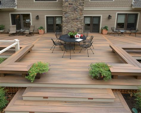 awesome deck ideas 45 incredible wooden outdoor deck ideas for awesome porch and garden fres hoom