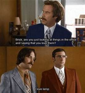 Anchorman:glass case of emotion on Pinterest | Ron ...