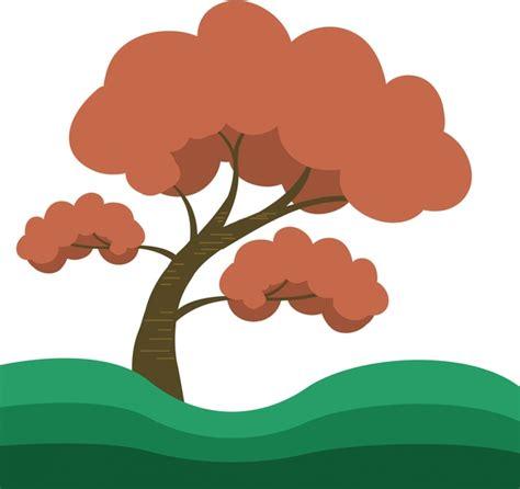 tree drawing  vector    vector