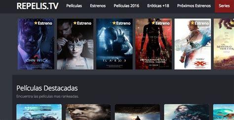 paginas  ver peliculas  gratis en espanol