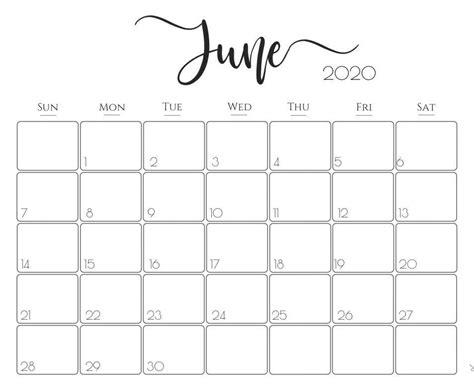 print june calendar   blank editable template