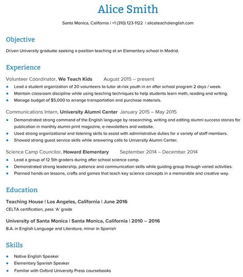 Eye grabbing no experience resumes samples livecareer. Resume For Teacher Job Without Experience - Best Resume ...