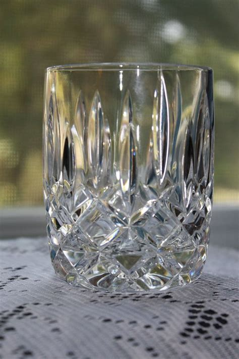 crystal lead block glasses ball hand glass low czech things republic crystals fashioned handmade sell place wine langley