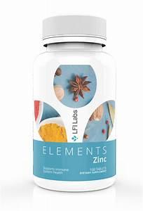 Lfi Elements Zinc - Zinc Supplement For Men  U0026 Women