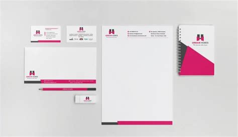 Create an amazing and unique business card letterhead