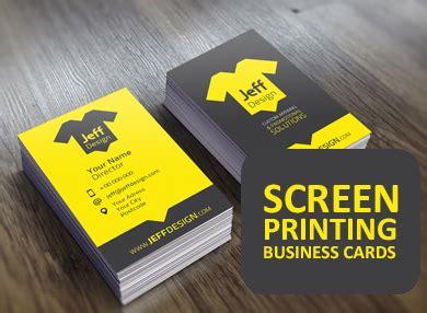 screen printing business card  thrissur big brain creation