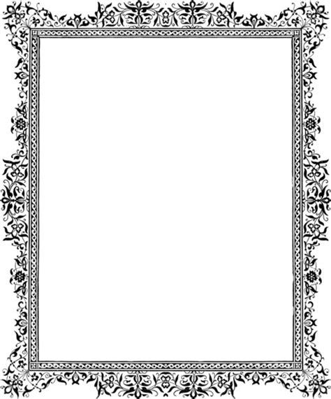 p border monochrome   images  clkercom vector
