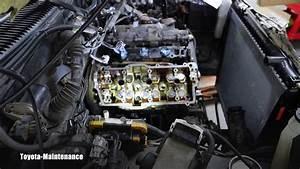 Toyota Engine 5vz-fe Cylinder Head Removal