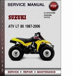 Suzuki Atv Lt 80 1987