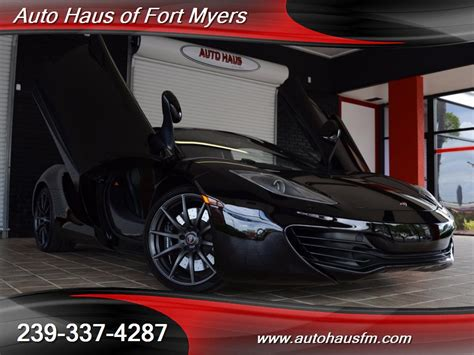 2012 mclaren mp4 12c ft myers fl for sale in fort myers