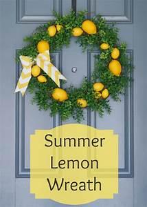 20, Beautiful, Summer, Wreath, Tutorials, And, Ideas
