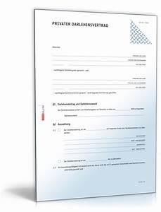 Geld Verleihen Privat : privater darlehensvertrag ~ Jslefanu.com Haus und Dekorationen
