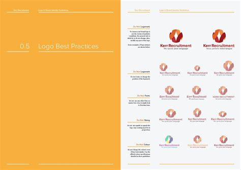 free brand guidelines template 14 page logo and brand identity guidelines template for for free