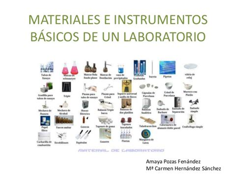 materiales e instrumentos b 225 sicos de un laboratorio mayka y amaya