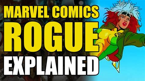 Marvel Comics: Rogue Explained - YouTube