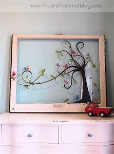 From old window to new wall art diy upcyle endless